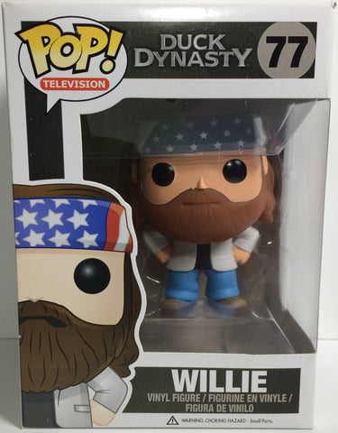 (TAS031771) - Pop! Vinyl Figure Bobble Head - Duck Dynasty Willie #77, , Bobblehead, Pop!, The Angry Spider Vintage Toys & Collectibles Store  - 1