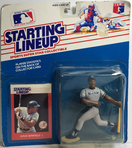 (TAS031773) - 1988 Kenner Starting Lineup MLB - Dave Winfield NY Yankees, , Action Figure, Kenner, The Angry Spider Vintage Toys & Collectibles Store  - 1