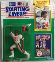 (TAS031777) - 1990 Kenner Starting Lineup NFL Action Figure - Deion Sanders, , Action Figure, Kenner, The Angry Spider Vintage Toys & Collectibles Store  - 1