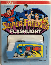 (TAS031778) - 1980 Nasta Super Friends DC Comics Flashlight - Bat-man, , Lights & Lamps, Batman, The Angry Spider Vintage Toys & Collectibles Store  - 1