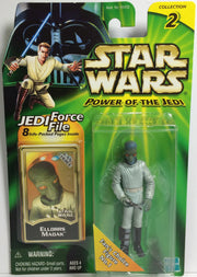 (TAS031781) - Hasbro Star Wars Power Of The Jedi Figure - Ellorrs Madak, , Action Figure, Star Wars, The Angry Spider Vintage Toys & Collectibles Store  - 1