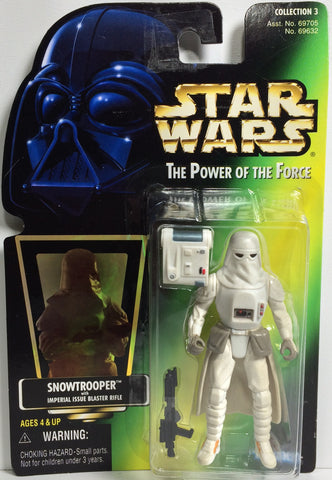 (TAS031783) - 1997 Hasbro Star Wars The Power Of The Force Figure - Snowtrooper, , Action Figure, Star Wars, The Angry Spider Vintage Toys & Collectibles Store  - 1