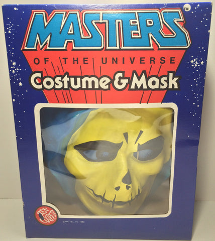 (TAS031792) - 1982 Ben Cooper Masters Of The Universe Costume & Mask - Skeletor, , Costume, MOTU, The Angry Spider Vintage Toys & Collectibles Store  - 1