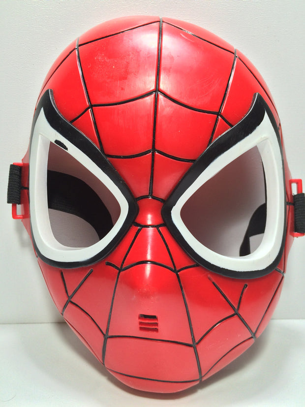 (TAS031795) - Vintage Halloween Mask - Marvel The Amazing Spider-Man, , Costume, Spiderman, The Angry Spider Vintage Toys & Collectibles Store  - 1