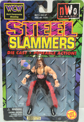 (TAS031796) - 1999 Toy Biz WCW nWo Die-Cast Steel Slammers Figure - Kevin Nash, , Action Figure, Wrestling, The Angry Spider Vintage Toys & Collectibles Store  - 1