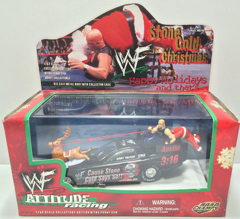 (TAS031798) - 1999 Road Champs Holiday WWF WWE Attitude Racing Die-Cast Austin, , Trucks & Cars, Wrestling, The Angry Spider Vintage Toys & Collectibles Store  - 1
