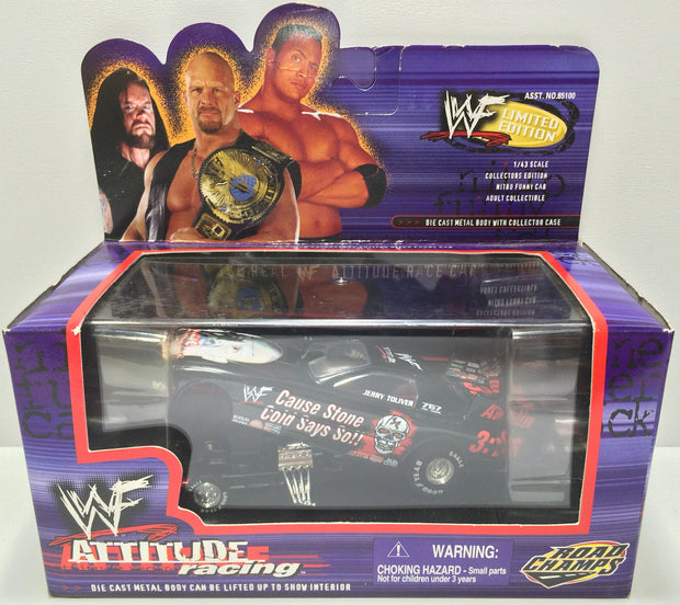 (TAS031799) - 1999 Road Champs WWF WWE Attitude Racing Die-Cast - Stone Cold, , Trucks & Cars, Wrestling, The Angry Spider Vintage Toys & Collectibles Store  - 1