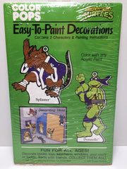 (TAS031807) - 1990 Color Pops Teenage Mutant Ninja Turtles Decorations Splinter, , Party, TMNT, The Angry Spider Vintage Toys & Collectibles Store  - 1