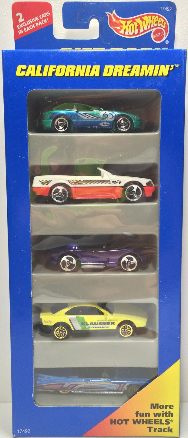 (TAS031815) - 1996 Mattel Hot Wheels Die-Cast Cars - California Dreamin' Set, , Trucks & Cars, Hot Wheels, The Angry Spider Vintage Toys & Collectibles Store  - 1