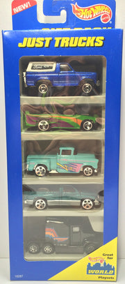 (TAS031817) - 1996 Mattel Hot Wheels Die-Cast Cars - Just Trucks Set, , Trucks & Cars, Hot Wheels, The Angry Spider Vintage Toys & Collectibles Store  - 1