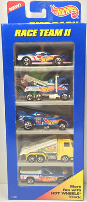 (TAS031818) - 1996 Mattel Hot Wheels Die-Cast Cars - Race Team II Set, , Trucks & Cars, Hot Wheels, The Angry Spider Vintage Toys & Collectibles Store  - 1