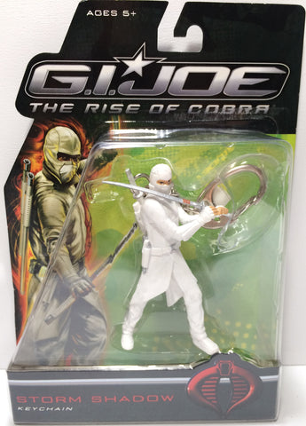 (TAS031819) - 2009 Hasbro G.I. Joe The Rise Of Cobra Keychain - Storm Shadow, , Keychain, G.I. Joe, The Angry Spider Vintage Toys & Collectibles Store  - 1