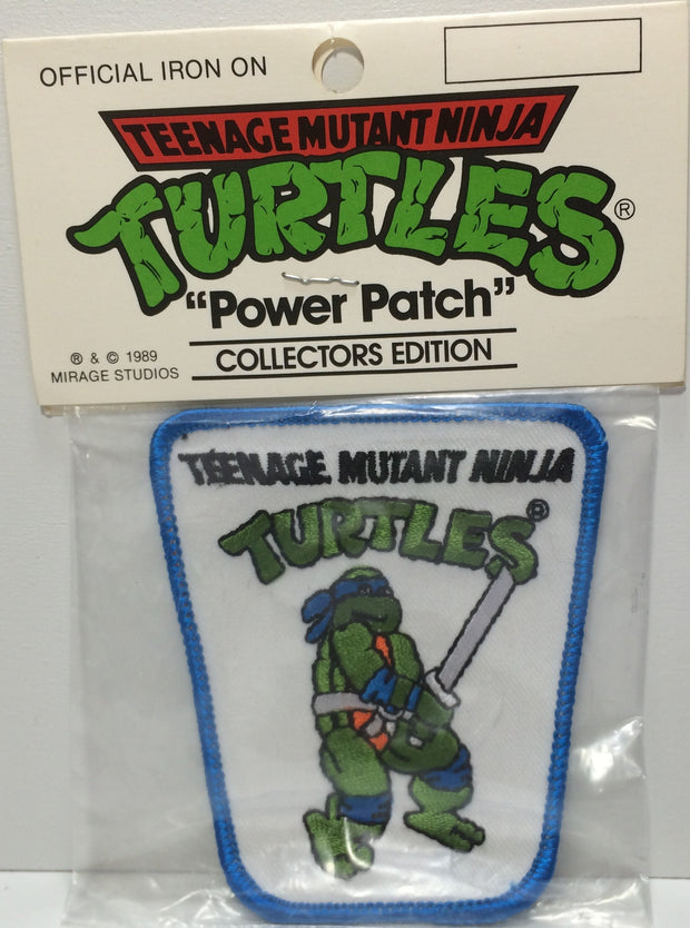 (TAS031831) - 1989 Mirage Studios Teenage Mutant Ninja Turtles Power Patch, , Other, TMNT, The Angry Spider Vintage Toys & Collectibles Store  - 1