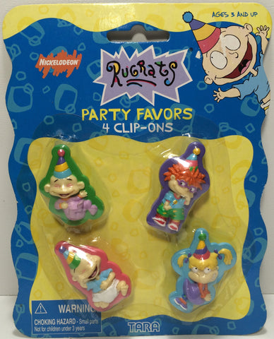 (TAS031833) - 1998 Tara Toys Nickelodeon Partry Favors Clip-Ons - Rugrats, , Party, Nickelodeon, The Angry Spider Vintage Toys & Collectibles Store  - 1
