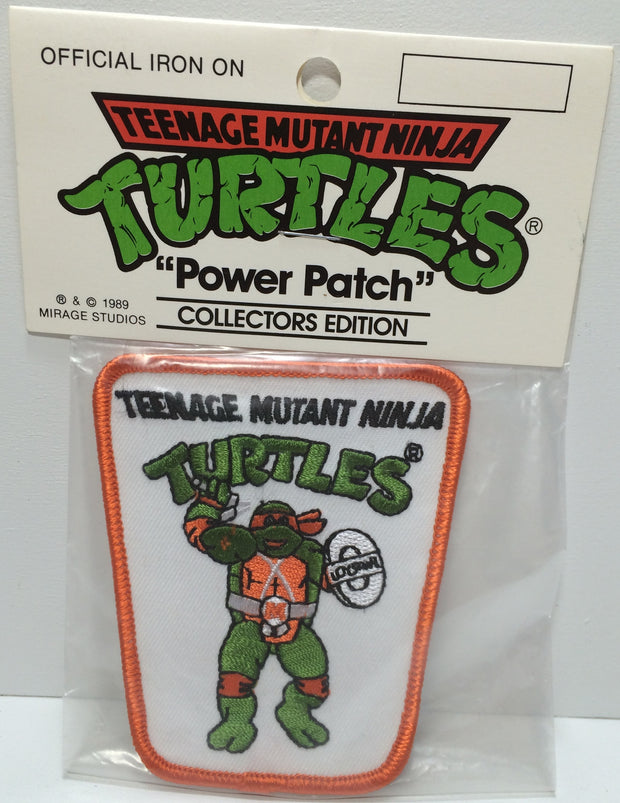 (TAS031838) - 1989 Mirage Studios Teenage Mutant Ninja Turtles Power Patch, , Other, TMNT, The Angry Spider Vintage Toys & Collectibles Store  - 1