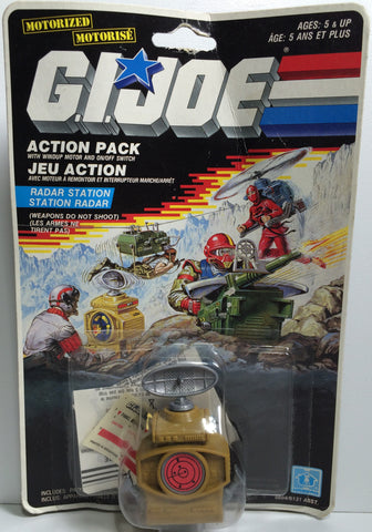(TAS031844) - 1998 Hasbro G.I. Joe Action Pack - Motorized Radar Station, , Action Figure, G.I. Joe, The Angry Spider Vintage Toys & Collectibles Store  - 1