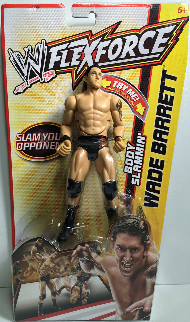 (TAS031846) - 2011 Mattel WWE Wrestling Action Figure FlexForce - Wade Barrett, , Action Figure, Wrestling, The Angry Spider Vintage Toys & Collectibles Store  - 1