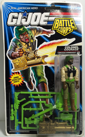 (TAS031850) - 1992 Hasbro G.I. Joe Battle Corps Action Figure - Colonel Courage, , Action Figure, G.I. Joe, The Angry Spider Vintage Toys & Collectibles Store  - 1