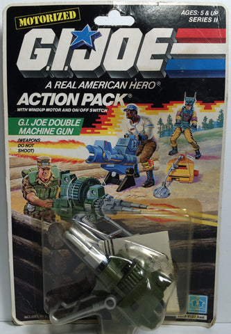 (TAS031852) - 1998 Hasbro G.I. Joe Action Pack - Motorized Double Machine Gun, , Action Figure, G.I. Joe, The Angry Spider Vintage Toys & Collectibles Store  - 1