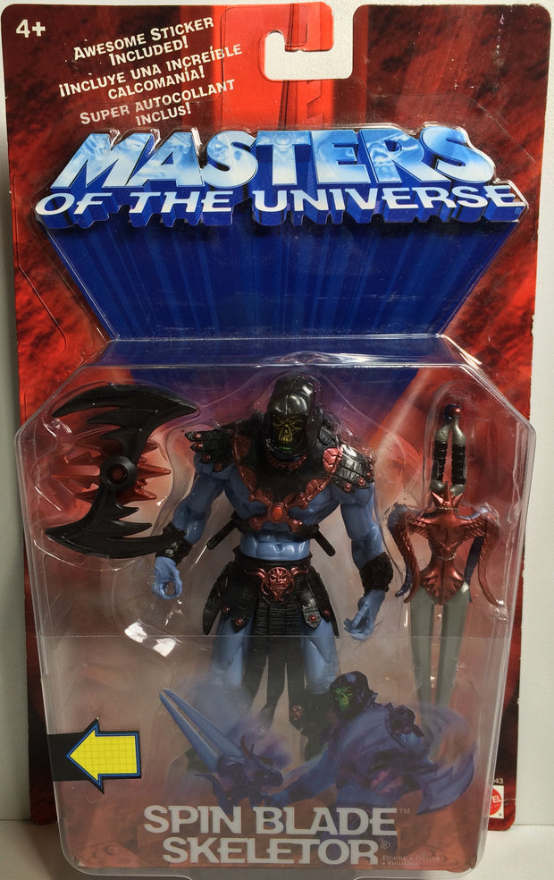 (TAS031854) - Mattel Masters Of The Universe - Spin Blade Skeletor, , Action Figure, MOTU, The Angry Spider Vintage Toys & Collectibles Store  - 1