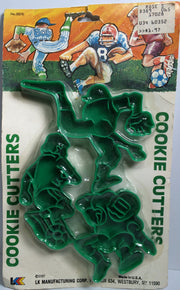 (TAS031856) - 1989 LK NFL Football Vintage Cookie Cutters, , Other, NFL, The Angry Spider Vintage Toys & Collectibles Store  - 1