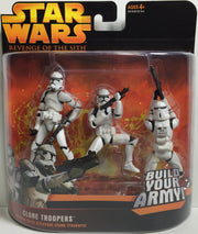 (TAS031868) - 2005 Hasbro Star Wars Revenge Of The Sith - Clone Troopers, , Action Figure, Star Wars, The Angry Spider Vintage Toys & Collectibles Store  - 1
