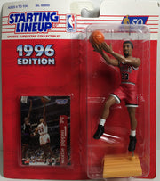 (TAS031869) - 1996 Kenner Starting Lineup Figure - Scottie Pippen #33, , Action Figure, NBA, The Angry Spider Vintage Toys & Collectibles Store  - 1