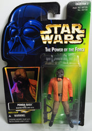 (TAS031871) - 1996 Hasbro Star Wars The Power Of The Force - Ponda Baba, , Action Figure, Star Wars, The Angry Spider Vintage Toys & Collectibles Store  - 1