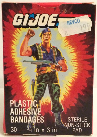 (TAS031958) - Hasbro G.I. Joe Plastic Adhesive Bandages, , Bath, G.I. Joe, The Angry Spider Vintage Toys & Collectibles Store