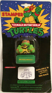 (TAS031973) - Mirage Teenage Mutant Ninja Turtles Stamper - Michaelangelo, , Stampers, TMNT, The Angry Spider Vintage Toys & Collectibles Store