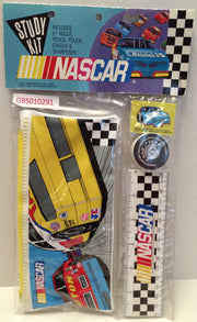 (TAS031985) - Nascar Vintage Nascar Study Kit / Pencil Pouch / School Kit, , Study Kit, Nascar, The Angry Spider Vintage Toys & Collectibles Store