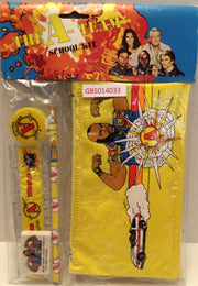 (TAS031988) - 1983 Vintage The A-Team School Kit / Study Kit / Pencil Pouch, , Study Kit, A-Team, The Angry Spider Vintage Toys & Collectibles Store