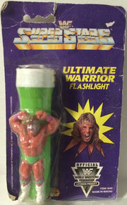 (TAS032014) - 1990 Titan Sports Wrestling Superstars Flashlight-Ultimate Warrior, , Flashlight, Wrestling, The Angry Spider Vintage Toys & Collectibles Store