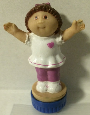 (TAS032025) - Cabbage Patch Kids Vintage Ink Stamper - Purple Pants Girl, , Stamper, Cabbage Patch, The Angry Spider Vintage Toys & Collectibles Store