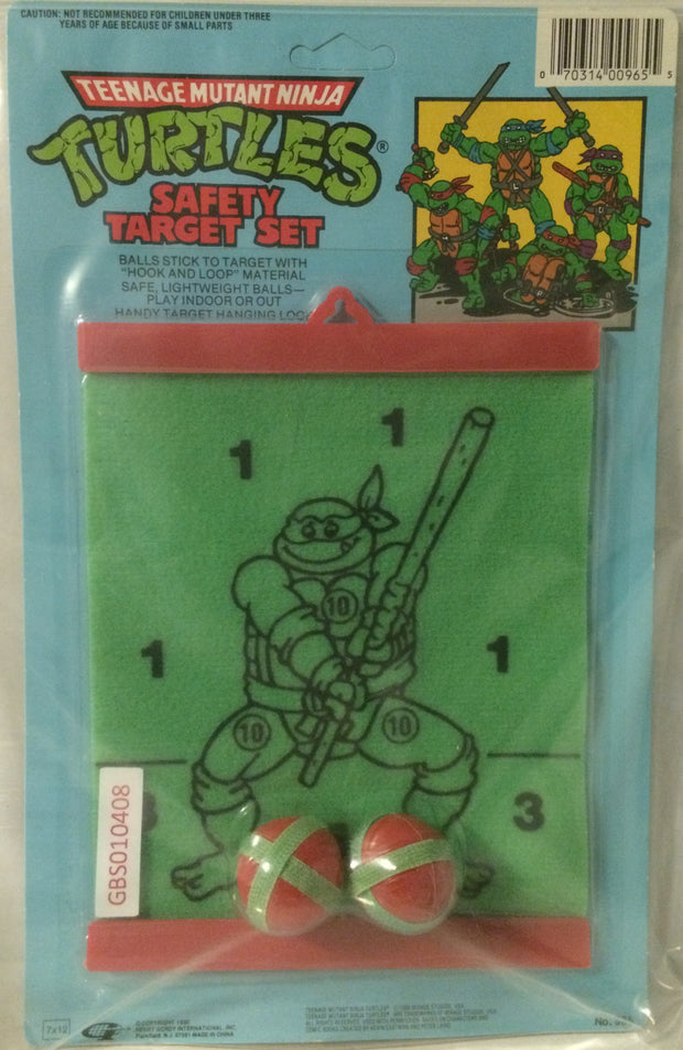 (TAS032033) - Mirage Studios Teenage Mutant Ninja Turtles Safety Target Set, , Games, TMNT, The Angry Spider Vintage Toys & Collectibles Store