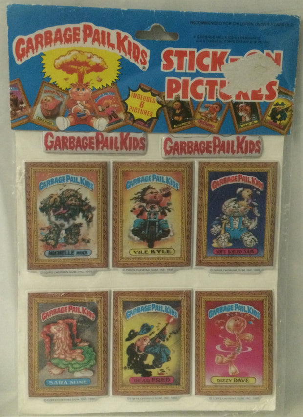 (TAS032038) - Topps Garbage Pail Kids Stick-On Pictures Set, , Other, Topps, The Angry Spider Vintage Toys & Collectibles Store