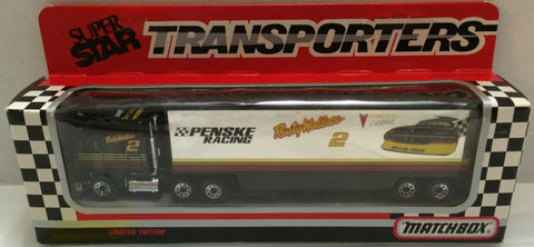 (TAS032057) - Matchbox Nascar SuperStar Transporter Penske - Rusty Wallace #2, , Trucks & Cars, NASCAR, The Angry Spider Vintage Toys & Collectibles Store