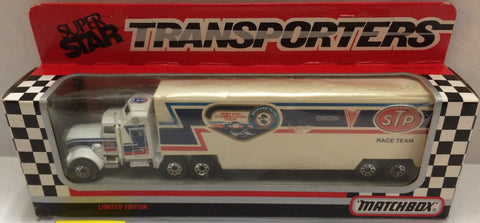 (TAS032058) - Matchbox Nascar SuperStar Transporter sTp Racing - Richard Petty, , Trucks & Cars, NASCAR, The Angry Spider Vintage Toys & Collectibles Store