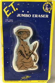 (TAS032094) - 1982 Star Power E.T. Vintage Action Figure Jumbo Eraser, , Eraser, Eraser, The Angry Spider Vintage Toys & Collectibles Store