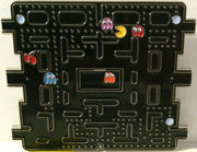 (TAS032098) - Vintage Video Game Pac-Man & Ghost Belt Buckle, , Clothing & Accessories, Games, The Angry Spider Vintage Toys & Collectibles Store