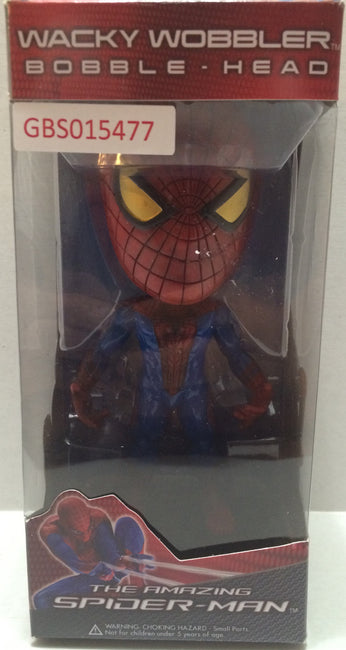 (TAS032135) - Funko Wacky Wobbler Bobble Head - The Amazing Spider-Man, , Bobblehead, Funko, The Angry Spider Vintage Toys & Collectibles Store