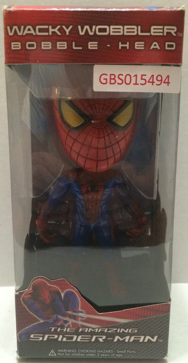 (TAS032136) - Funko Wacky Wobbler Bobble Head - The Amazing Spider-Man, , Bobblehead, Funko, The Angry Spider Vintage Toys & Collectibles Store