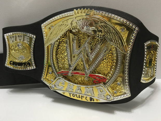 (TAS032149) - 2005 Jakks WWE WWF Monday Night Championship Wrestling Belt, , Clothing & Accessories, Wrestling, The Angry Spider Vintage Toys & Collectibles Store