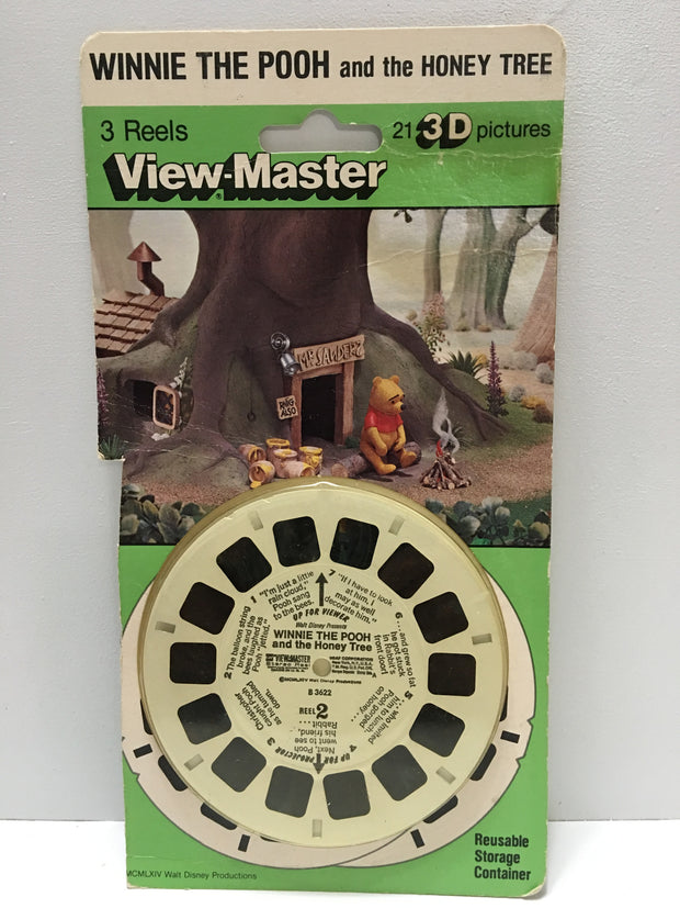 (TAS032160) - 1985 Mattel View-Master 3 Reels - Winnie The Pooh and the Honey Tr, , Other, Mattel, The Angry Spider Vintage Toys & Collectibles Store  - 1