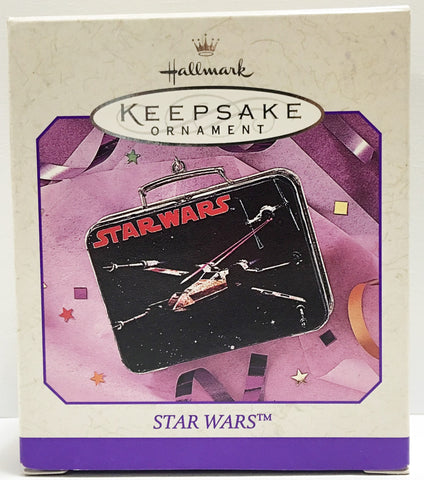 (TAS032171) - 1998 Hallmark Keepsake Ornament Star Wars Pressed Tin, , Ornament, Hallmark, The Angry Spider Vintage Toys & Collectibles Store  - 1