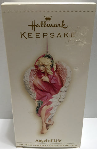 (TAS032185) - 1996 Hallmark Keepsake Ornament - Christmas Angel of Life, , Ornament, Hallmark, The Angry Spider Vintage Toys & Collectibles Store  - 1