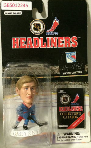 (TAS032188) - 1997 Corinthian NHL Hockey Headliners Figure - Wayne Gretzky, , Action Figure, NHL, The Angry Spider Vintage Toys & Collectibles Store