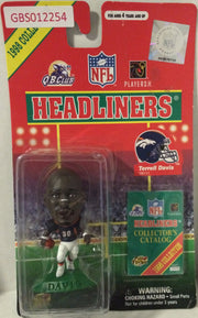 (TAS032196) - 1998 Corinthian NFL Football Headliners Figure - Terrell Davis, , Action Figure, NFL, The Angry Spider Vintage Toys & Collectibles Store