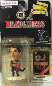 (TAS032200) - 1997 Corinthian NHL Hockey Headliners Figure - Pierre Turgeon, , Action Figure, NHL, The Angry Spider Vintage Toys & Collectibles Store