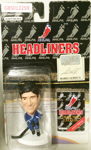 (TAS032201) - 1996 Corinthian NHL Hockey Headliners Figure - Mario Lemieux, , Action Figure, NHL, The Angry Spider Vintage Toys & Collectibles Store